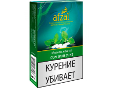 Кальянный табак Afzal Gum With Mint 40 gr