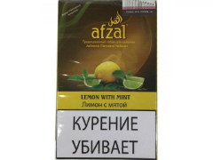 Кальянный табак Afzal Lemon With Mint 40 gr