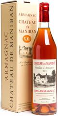 Арманьяк Castarede Chateau de Maniban XO Bas Armagnac AOC gift box, 0,7 л.