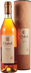 Арманьяк Chabot 1974, gift tube, 0.7 л