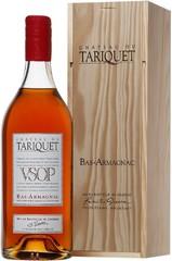 Арманьяк Chateau du Tariquet VSOP Bas-Armagnac AOC wooden box, 2.5 л.