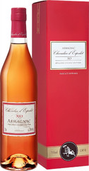 Арманьяк Chevalier d'Espalet XO, Armagnac AOC, gift box, 0.7 л