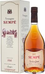Арманьяк Sempe Fine Armagnac gift box , 0,7 л