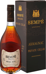 Арманьяк Sempe Private Cellar Armagnac gift box , 0,7 л