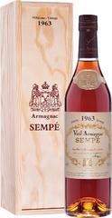 Арманьяк Sempe Vieil Armagnac 1963 , 0,7 л