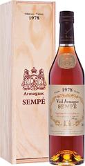 Арманьяк Sempe Vieil Armagnac 1978 , 0,7 л