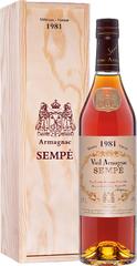 Арманьяк Sempe Vieil Armagnac 1981 , 0,7 л