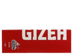 Бумага для самокруток Gizeh Fine Red