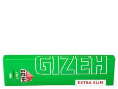Бумага для самокруток Gizeh Green Extra Slim 66