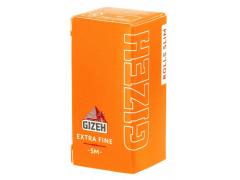 Бумага для самокруток Gizeh Rolls Slim Extra Fine 5м