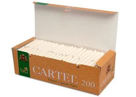 Гильзы для самокруток Cartel Bio 200 шт