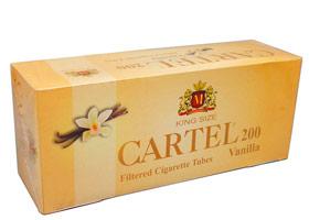 Гильзы для самокруток Cartel Vanilla 200 шт