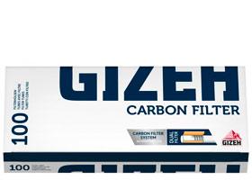 Гильзы для самокруток Gizeh Carbon Filter 100 шт