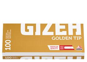 Гильзы для самокруток Gizeh Golden Tip 100 шт