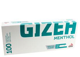 Гильзы для самокруток Gizeh Menthol 100 шт