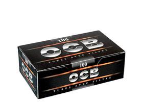 Гильзы для самокруток OCB Black 100 шт