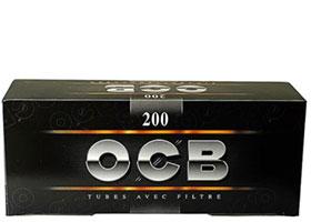 Гильзы для самокруток OCB Black 200 шт