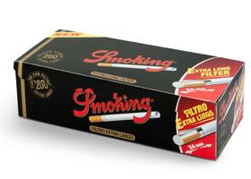 Гильзы для самокруток Smoking Extra Long 200 шт