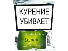 Сигаретный табак Excellent Lemon Mint 80 гр.