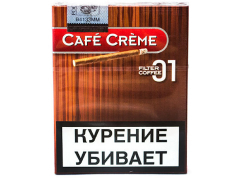 Сигариллы Cafe Creme Filter Coffee 01
