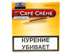Сигариллы Cafe Creme Original Filter Tip
