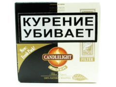 Сигариллы Candlelight Filter Assorty Aromatic+Coconut 25+25 (шт.)