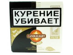 Сигариллы Candlelight Filter Assorty Aromatic+Coconut 25+25 (шт.)