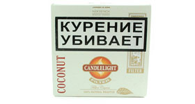 Сигариллы Candlelight Filter Coconut 50 (шт.)