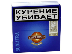Сигариллы Candlelight Filter Sumatra 50 (шт.)