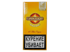 Сигариллы Candlelight Filter Vanilla 10 (шт.)