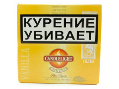Сигариллы Candlelight Filter Vanilla 50 (шт.)