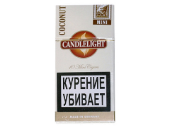 Сигариллы Candlelight Mini Coconut 10 (шт.)