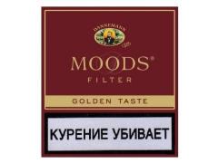 Сигариллы Moods Filter Golden Taste 10