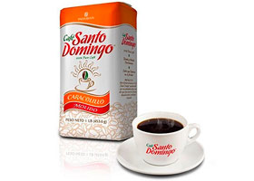 Доминиканский Кофе Молотый Santo Domingo Caracolillo 454 гр.
