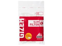 Фильтры для самокруток Gizeh Slim 120+30