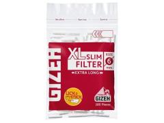 Фильтры для самокруток Gizeh XL Slim Extra Long
