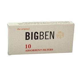 Фильтры для трубок Big-Ben 9мм 10 шт