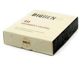 Фильтры для трубок Big-Ben 9мм 40 шт