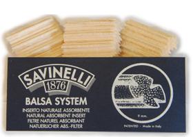 Фильтры для трубок Savinelli Balsa 15 шт