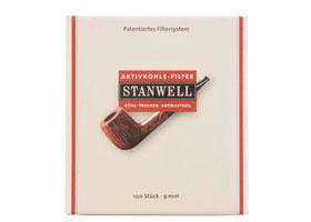 Фильтры угольные Stanwell 9 мм 100 шт