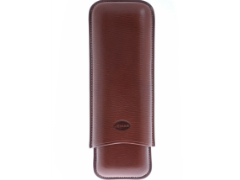 Футляр Jemar на 2 сигары Torpedo 497-2-brown