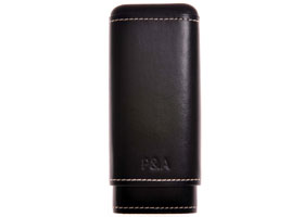 Футляр P&A на 3 сигары T1067-Black