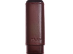 Футляр P&A на 2 сигары T1105-Brown