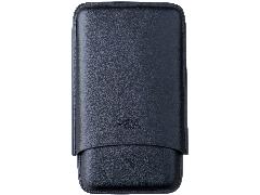 Футляр P&A на 3 сигары T369-black