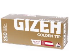 Гильзы для самокруток Gizeh Golden Tip 250 шт