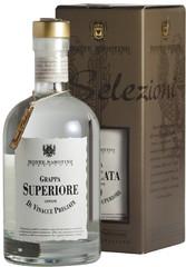 Граппа Monte Sabotino Grappa Bianca Superiore, gift box, 0.7 л .