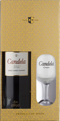 Херес Candela Cream Jerez gift box with glass, 0,75 л.