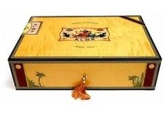 Хьюмидор Elie Bleu Alba Gold на 75 сигар