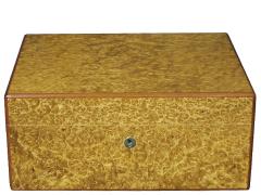 Хьюмидор Elie Bleu Classic New Amboyna Burl на 100 сигар