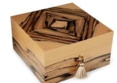 Хьюмидор Elie Bleu Royal Ebony Pop Art на 75 сигар